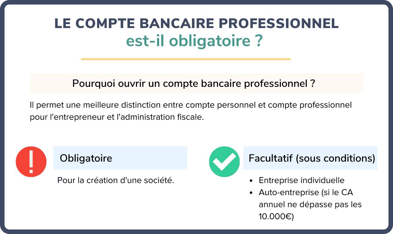 compte bancaire professionnel