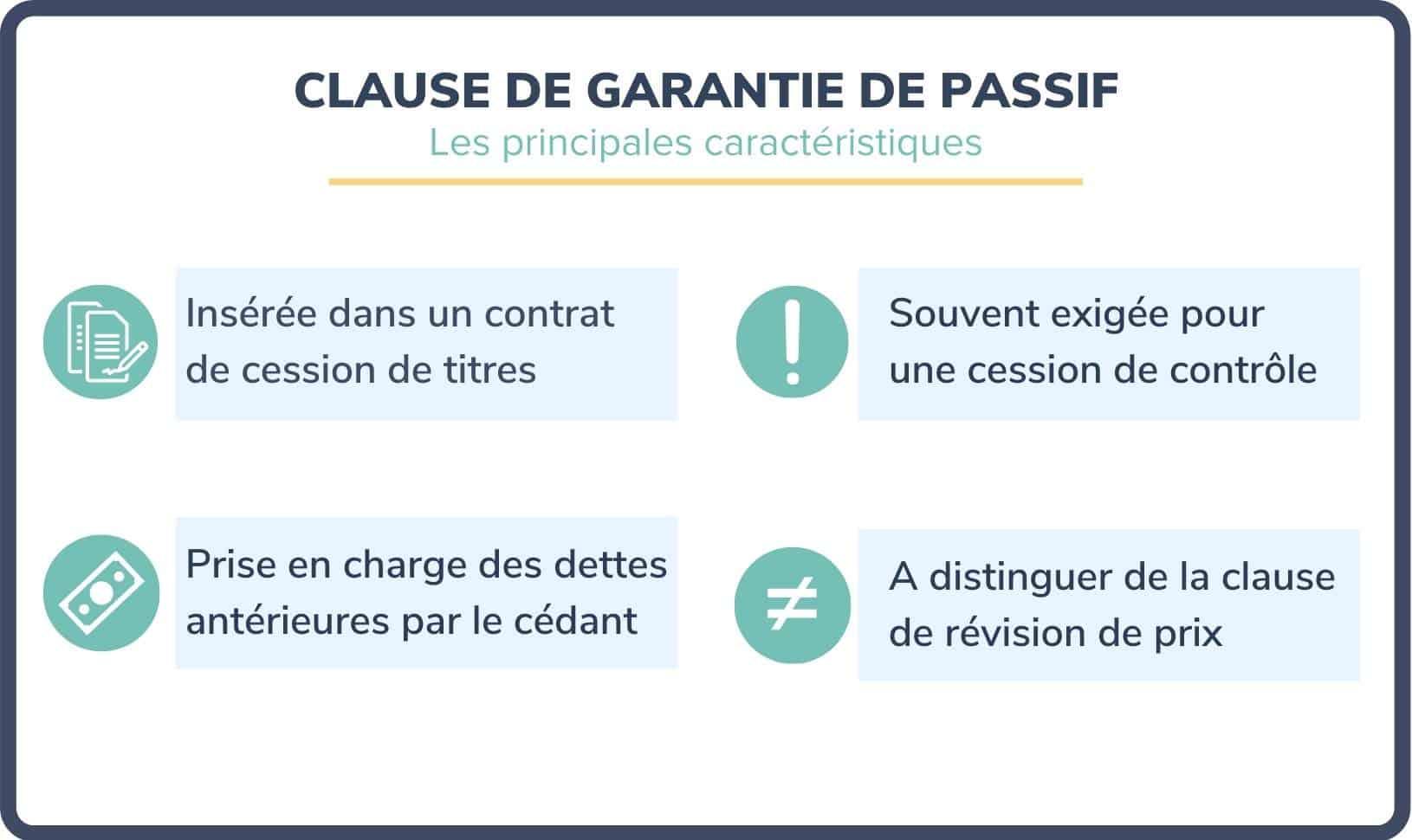 clause de garantie de passif